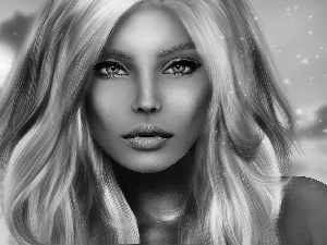 2D Graphics, Women, portrait