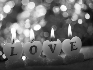 candles, LOVE, Love things, text