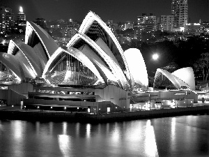 Australia, Sydney Opera House, Night, Sydney