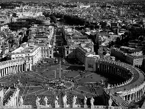 square, peter, Rome, Holy