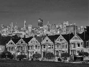 evening, San Francisco, Town